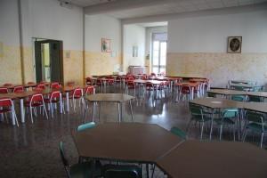 Il refettorio della scuola
